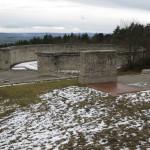 En af de tre massegrave i Buchenwald
